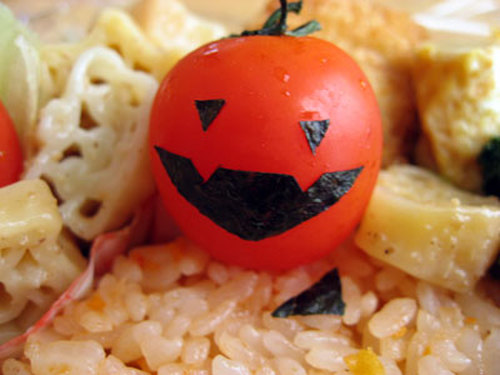 Tomato Ghoul (for Halloween)