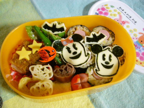 Mickey Mouse Ghost Character Bento