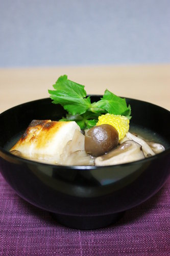 Mushrooms Galore! Easy Mushroom Soup with Mochi
