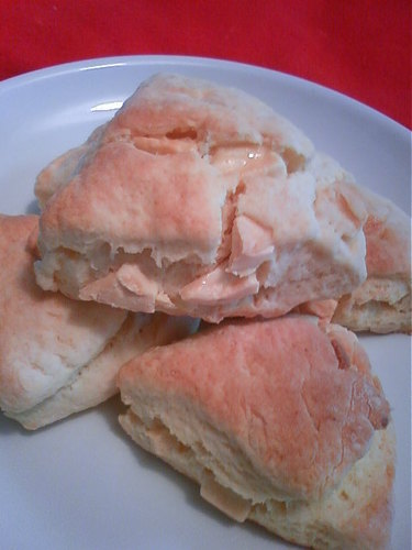 Starbucks-style White Chocolate Scones