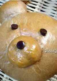 Double Chocolate Teddybear Bread