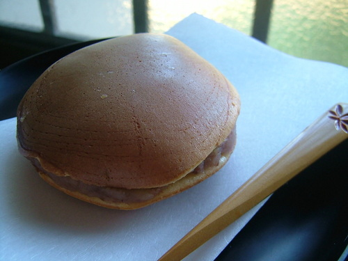 Dorayaki with Chestnut Filling