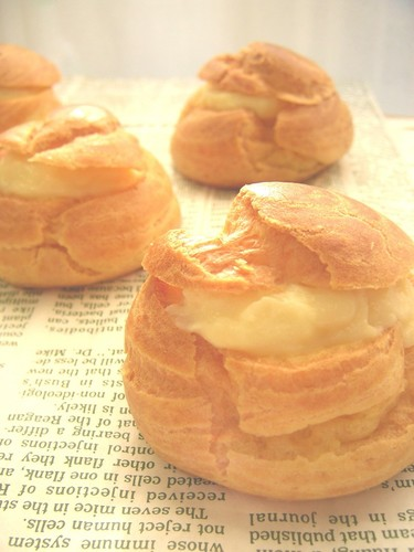 Cream Puffs with Soy Milk