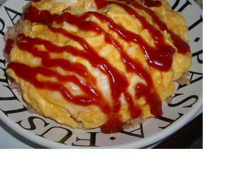 Rice Cooker Creamy Open Omurice