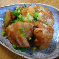 Beware of Overeating! Chicken Stir Fry with Green Onions, Mayonnaise, and Ponzu Sauce