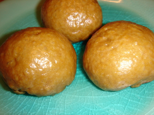 Flour Manju Buns (Brown Sugar)