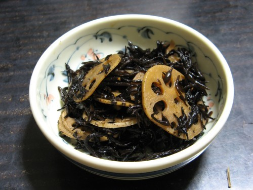 Macrobiotic: Hijiki and Lotus Root