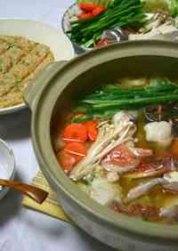 Miso-flavored Chanko Nabe (Hot Pot)
