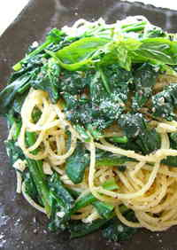 Pasta with Spinach and Parmesan Cheese