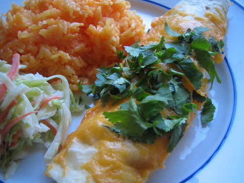 Hiro's Chicken, Enchilada Style
