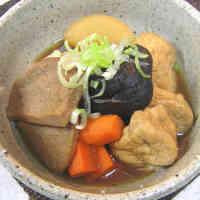 Black Hanpen Fish Cake Stew