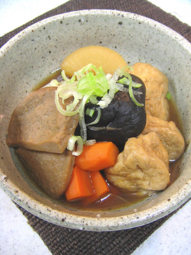 Black Hanpen Fish Cake Stew