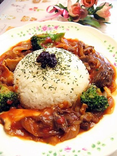 Hashed Beef Rice in 15 Minutes