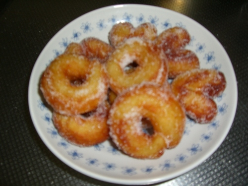 Potato Donuts Using Two Ingredients
