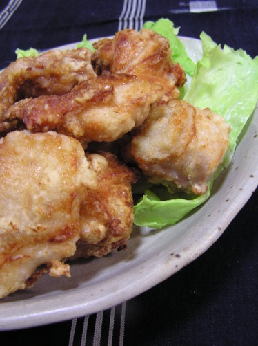 Salt-Flavored Chicken Karaage