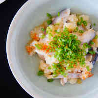 Vinegared Mackerel and Grated Daikon Radish