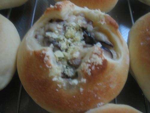 Mushroom Gratin Bread
