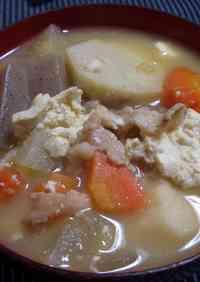 My Mother's Recipe for Kenchin-jiru