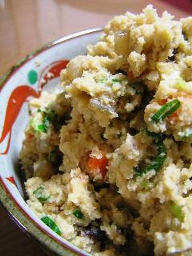 Cooked Okara (Soybean Pulp)