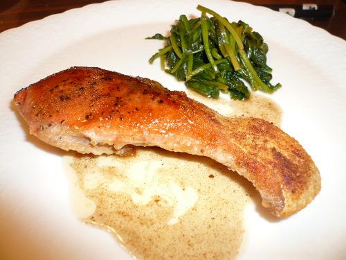 Salmon Meunière with Easy Lemon Sauce