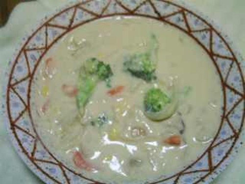 Vegetarian Soymilk Cream Stew