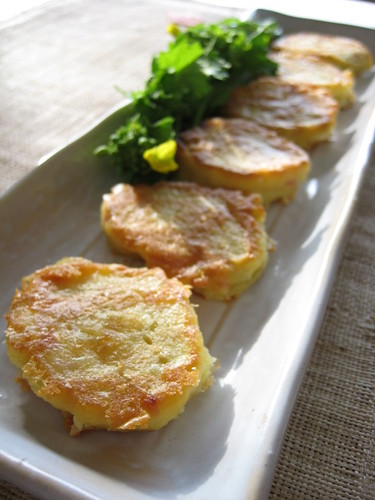 Crispy-Fried Hanpen Fishcake with Cheese