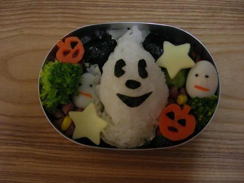 Character Bento Halloween Mickey Mouse Rice Ball