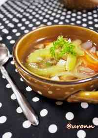 Easy Celery Chicken Soup