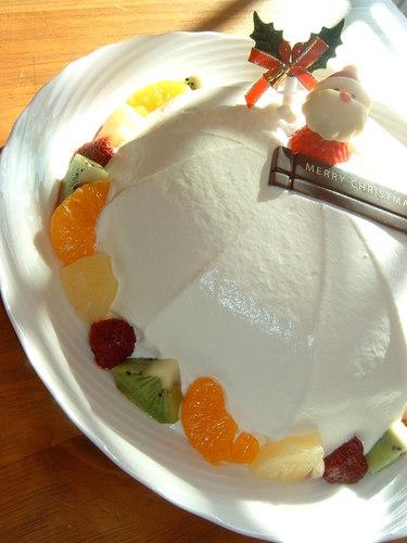 A Raspberry Dome Cake For Christmas