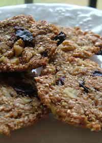 100% Whole Wheat Flour Macrobiotic Cookies