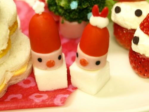 Christmas Santa Clause Pinchos