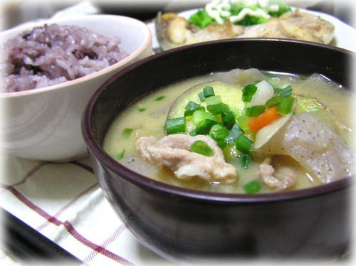 Rich Pork Miso Soup