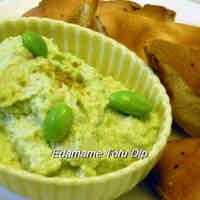 Healthy Edamame and Tofu Dip