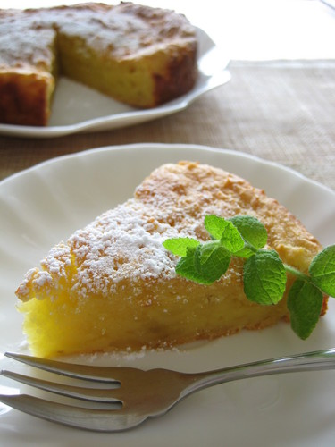 Maple Cake with Potato