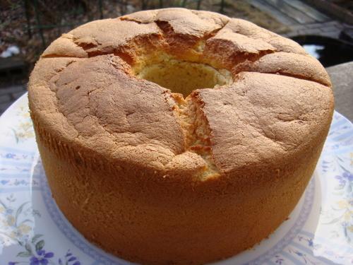 Healthy Soy Milk Banana Chiffon Cake
