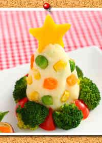 Potato Salad Christmas Tree