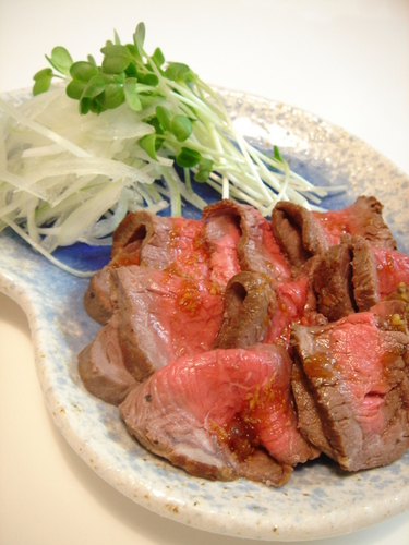 Roast Beef-Style Beef Tataki
