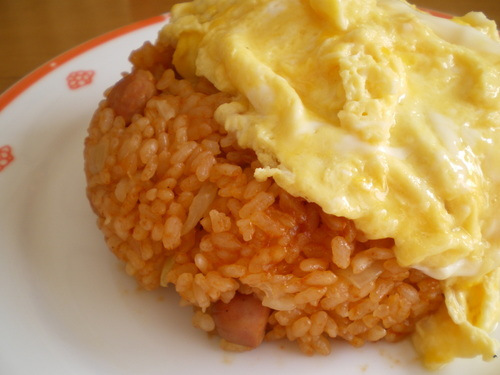 Omurice with Well-Flavoured Chicken Rice