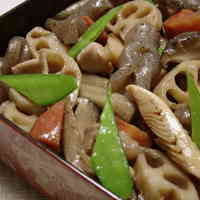 Braised Chicken and Vegetables (New Year's Food)