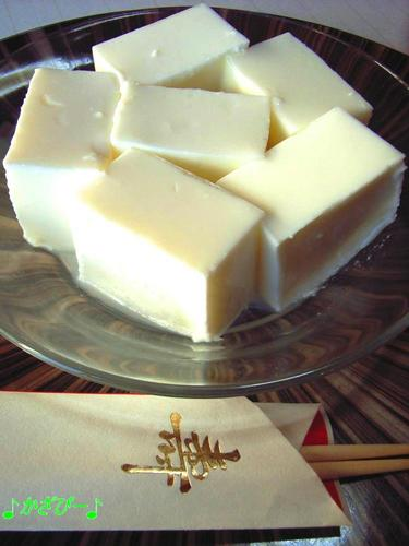 Toshichin-mama's Milk Yokan Jello