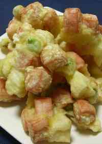 Chunky Fish Sausage and Vegetable Kakiage Fritters
