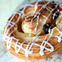 Apple Raisin Danish Pastries