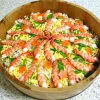 Chirashi Sushi (Scattered Sushi)