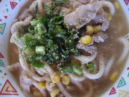Miso Butter Udon Noodles