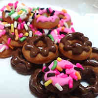 Miniature Donut Shaped Cookies