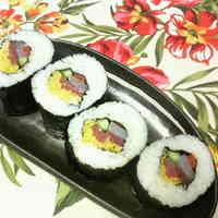 Seafood Ehomaki (Lucky Fat Sushi Rolls)