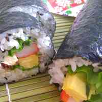 Ehou-maki (Futomaki Sushi) for Setsubun