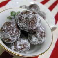 Easy Chocolate Snowballs