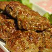 Bean Sprouts Teriyaki Hamburgers