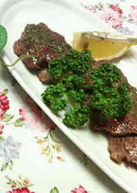 Bite-Size Beef Steak with Garlic Soy Sauce